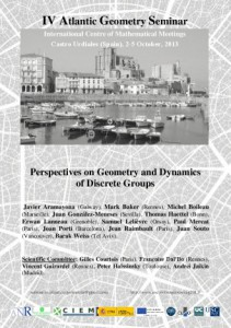 Poster Perspectives on geometry and dynamics of discrete groups